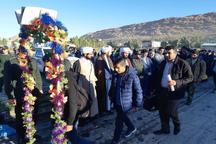 320 دانش آموز سرپل ذهابی راهی مناطق عملیاتی غرب کشور شدند