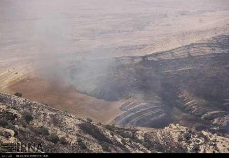 دستور استاندار کرمانشاه برای خاموش کردن آتش در مراتع ارتفاعات بازی دراز