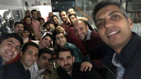 """دورهمی اعضای """"برنامه 90"""" با حضور عادل فردوسی پور+ تصاویر"""