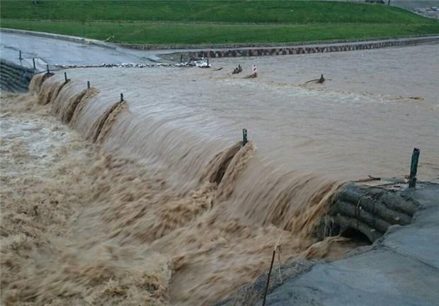 سیل به تاسیسات زیربنایی خراسان شمالی خسارت زد