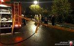 کشته شدن 2 نفر در واژگونی سراتو در بزرگراه شهید همت + تصاویر