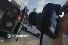 فیلم انتقال مجروحان حمله حزب الله به خودروی نظامی رژیم صهیونیستی