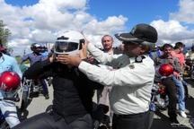 اصفهان رتبه اول کشور در کاهش تصادف با موتورسیکلت  آمار فوتیها اما بیش از میانگین کشوری است