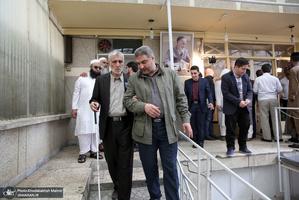 حضور و تلاوت قاریان روشندل در حسینیه جماران