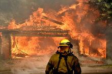 ادامه آتش سوزی کالیفرنیا+ تصاویر
