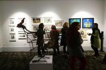جامعه هنرهای معاصر شیراز دچار سکون هنری است