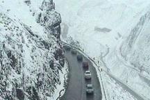 پلیس راه البرز: جاده کرج - چالوس یک طرفه شد