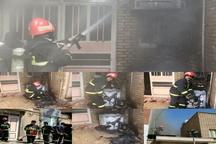 آتشسوزی یک باب منزل مسکونی در دزفول
