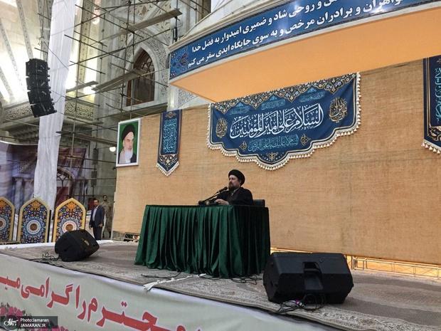 """سید حسن خمینی: از خدا بخواهیم""""تعصب"""" را از ما دور کند"""