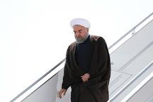 رییس جمهوری وارد استان سیل زده گلستان شد