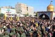 پیکر شهید مدافع حرم در پاکدشت تشییع و به خاک سپرده شد