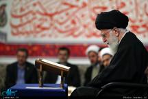 دیدار شرکتکنندگان در مسابقات بینالمللی قرآن با رهبر معظم انقلاب