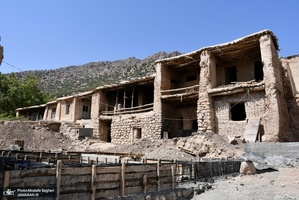 بهسازی و نوسازی تعدادی از واحد های مسکونی روستاهای سیل زده نورآباد