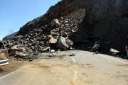 ریزش کوه مسیر چندین روستای شیروان را قطع کرد