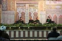 سپاه قائم سمنان(عج) در بازسازی عتبات عالیات پیشقدم است