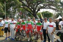 ناکامی دوچرخه سواری ایران در استقامت جاده بازی های آسیایی۲۰۱۸