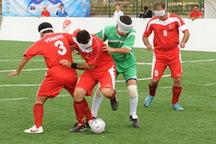 تیم فوتبال نابینایان هرمزگان به مقام سومی رقابت های لیگ برتر دست یافت