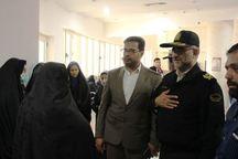 فرمانده انتظامی یزد از خانواده شهید مدافع حرم دلجویی کرد