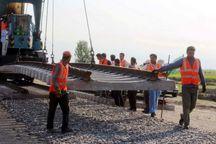 400 کیلومتر ریل معادن کشور را به شبکه راه آهن متصل می کند