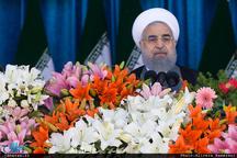 رئیس جمهور: یکی از اهداف بلند دولت تقویت بنیه دفاعی و نظامی ایران بود/ اقتدار نیروهای مسلح به رعایت توصیههای امام (س)، رهبر انقلاب و دوری از بازیهای سیاسی است