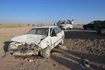 انحراف به چپ خودرو در جاده جهرم 2 کشته داشت