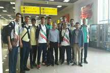 تیم  والیبال ساحلی کارگران ایران با ترکیبی از بازیکنان گلستان وارد  لتونی شد