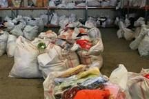 محموله البسه قاچاق میلیاردی در پیرانشهر کشف شد