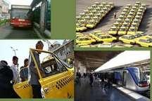 60 درصد سفرهای درون شهری پایختت بوسیله حمل و نقل عمومی انجام می شود