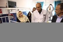 استاندار خراسان رضوی از بیمارستان امدادی مشهد بازدید کرد