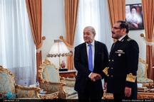 دیدار وزیر خارجه فرانسه با شمخانی