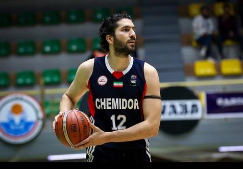 قهرمانی شیمیدر در مسابقات بسکتبال باشگاه های غرب آسیا