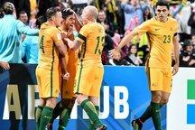 استرالیا با 2 گل امارات را برد
