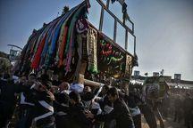 ۱۳ گردشگر استرالیایی از آیین عزاداری محرم در گناباد دیدن کردند