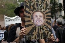 «خیزش مردمی» در فرانسه+ تصاویر
