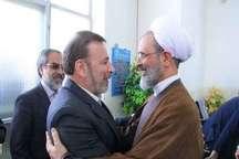 دیدار وزیر ارتباطات و فناوری با امام جمعه میبد یزد