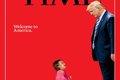 طرح تایم علیه ترامپ  + عکس