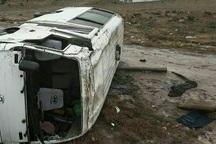 دانشجوی مصدوم حادثه واژگونی مینیبوس دانشجویان جان باخت