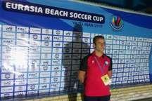سرمربی فوتبال ساحلی گلساپوش یزد: برای کسب قهرمانی جهان تلاش می کنیم