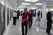 """نمایشگاه نقاشی """"مهر و ماه """" در بوشهر گشایش یافت"""