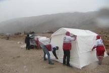 790 تخته چادر میان سیل زدگان خراسان شمالی توزیع شد