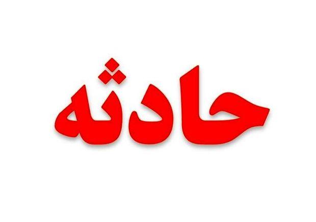 واژگونی اتوبوس در اتوبان پیامبر اعظم (ص) تبریز