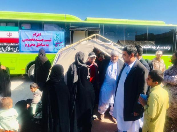 بیمارستان صحرائی سپاه در خاش افتتاح شد