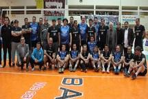 تیم والیبال هنرمندان بازی خیریه را از پیشکسوتان گنبد برد