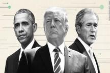 2017؛ یک سال ناکامی برای ترامپ+ نمودارها