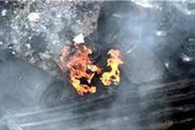 انفجار سیلند گاز در تایباد یک کشته داشت