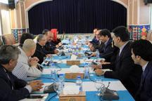 دین و فرهنگ محور دیدار اسقف کره جنوبی و سرپرست استانداری یزد