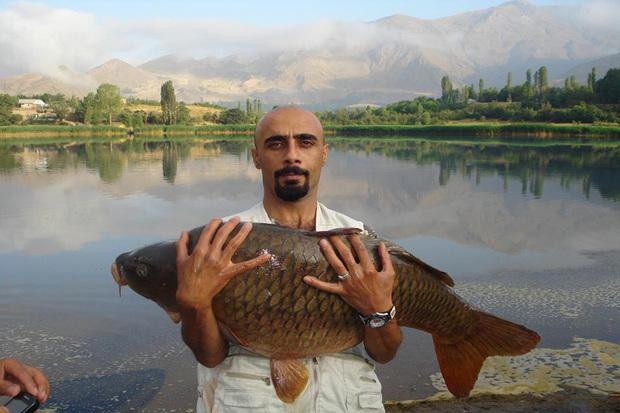 صید ماهی به شیوه بگیر و رها کن در دریاچه اوان قزوین انجام شد