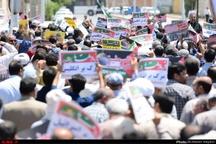 گزارش تصویری حضور مردم آبادان در راهپیمایی روز جهانی قدس