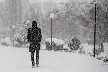 تداوم بارش باران و برف در اردبیل