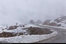 بارش برف فروردینی کوهرنگ را فراگرفت